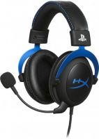 Kingston HyperX Cloud for PS4 (HX-HSCLS-BL/EM), Black-Blue