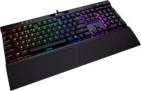 Corsair K70 RGB MK.2 Low Profile Rapidfire Cherry MX Low Profile Speed (CH-9109018-RU), Black, USB