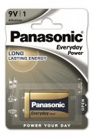 Panasonic EVERYDAY POWER ALKALINE (6F22REE/1B)