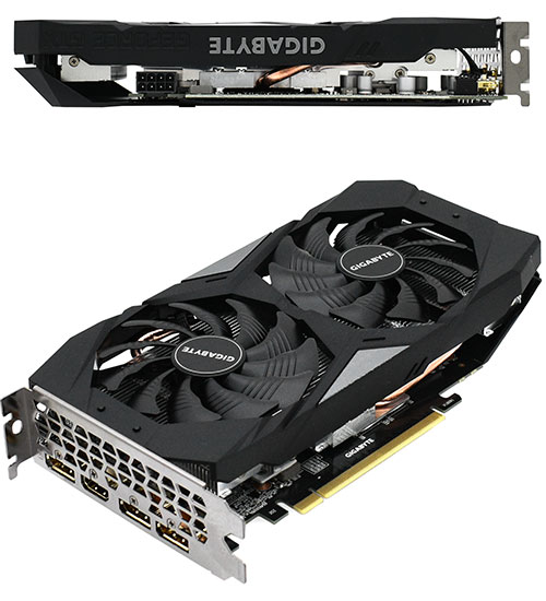 Gigabyte GeForce GTX 1660 Super (GV-N166SOC-6GD), 6GB, 192bit