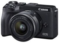 Canon EOS M6 Mark II + 15-45 IS STM + EVF Kit (3611C053)