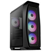 Aerocool Aero One Frost FRGB Tempered Glass Black (Aero One Frost-GBKv1)