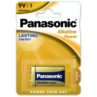 Panasonic Alkaline Power 6LF22 BLI 1 (6LF22APB/1BP)