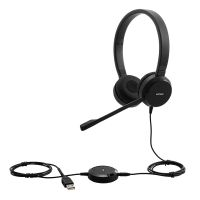 Lenovo Pro Stereo Wired VOIP Headset (4XD0S92991), Black