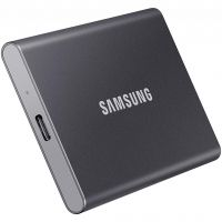 Samsung T7 Titan Gray (MU-PC500T/WW), 500GB, USB 3.2 Type-C