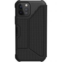 Urban Armor Gear Apple iPhone 12/12 Pro Metropolis Fibr (112356113940), Black