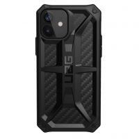 Urban Armor Gear Apple iPhone 12/12 Pro Monarch (112351114242), Carbon Fiber