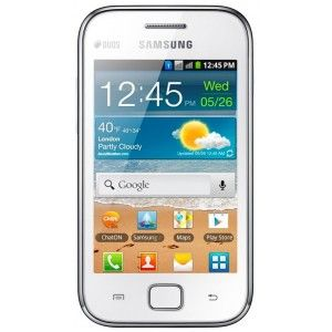 Samsung S6802 Galaxy Ace Duos (GT-S6802CWARTL), White
