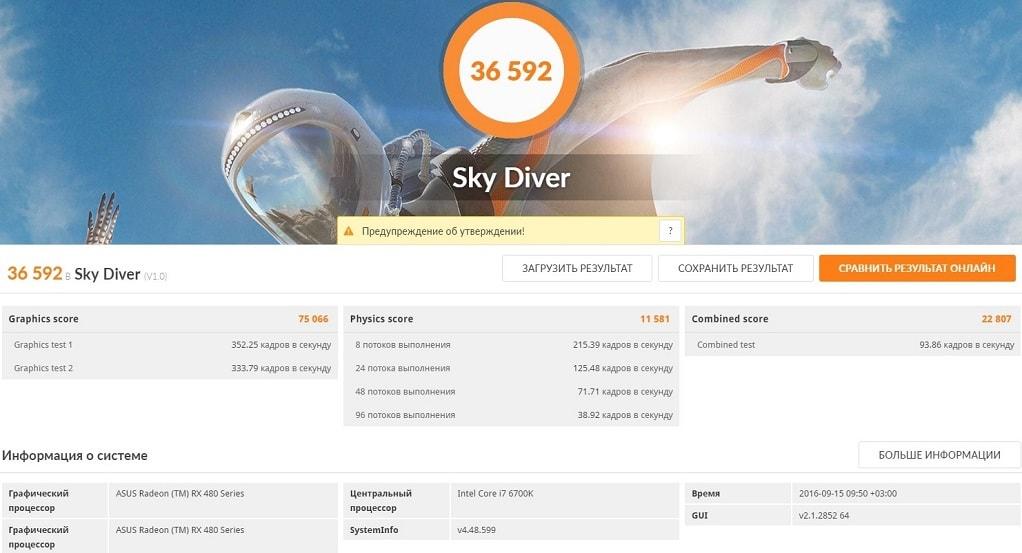 RX 480x2 SkyDiver